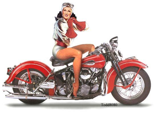 Harley davidson pin up girls biker pin ups pinterest harley harley davidson pin up girls freerunsca Images