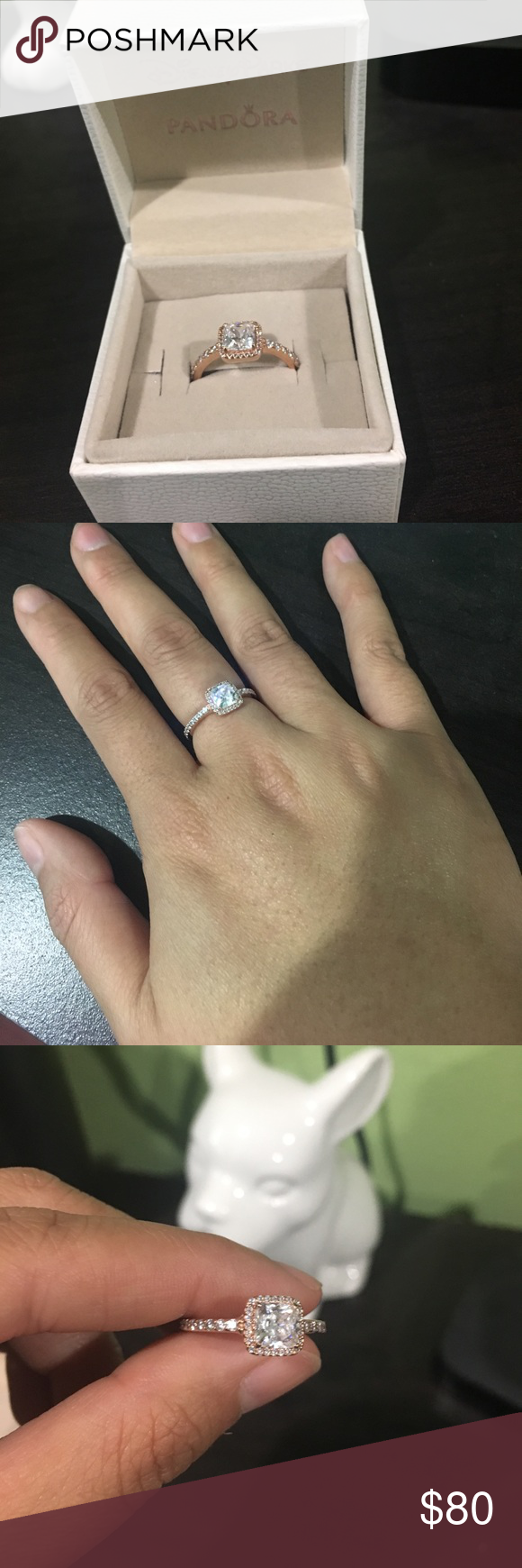 2e1c42742 Pandora Rose Timeless Elegance Ring Pandora Rose Gold Timeless Elegance Ring  size 52/6-6.5. Brand New bought as a fun ring then got a real engagement  ring.