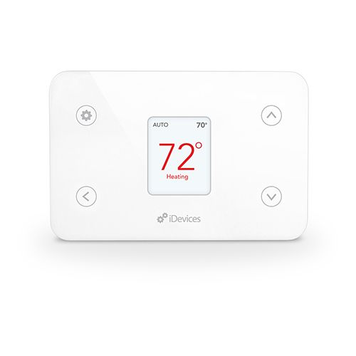 Idevices White Wi Fi Enabled Smart Thermostat Idev0005and5 Smart
