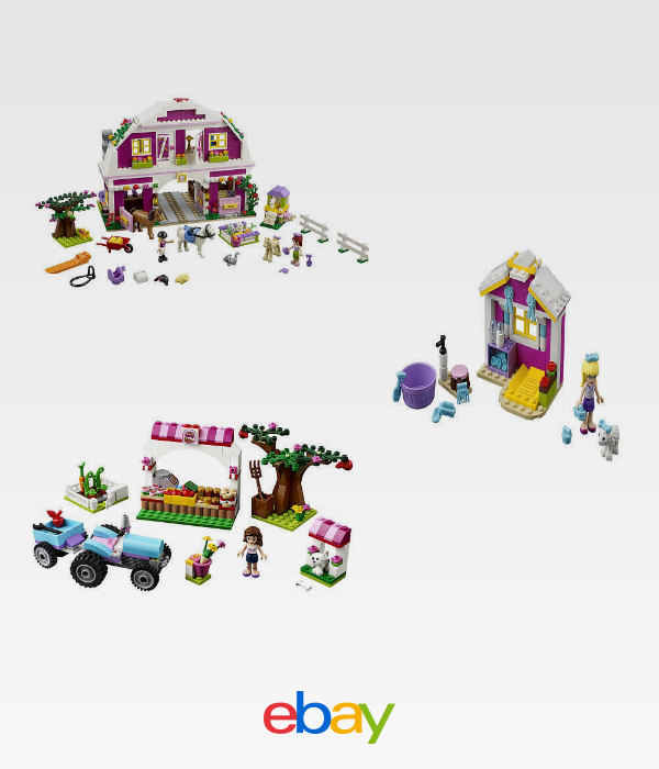 Lego Friends Co Pack 41026 41029 41039 Lego And Building Toys