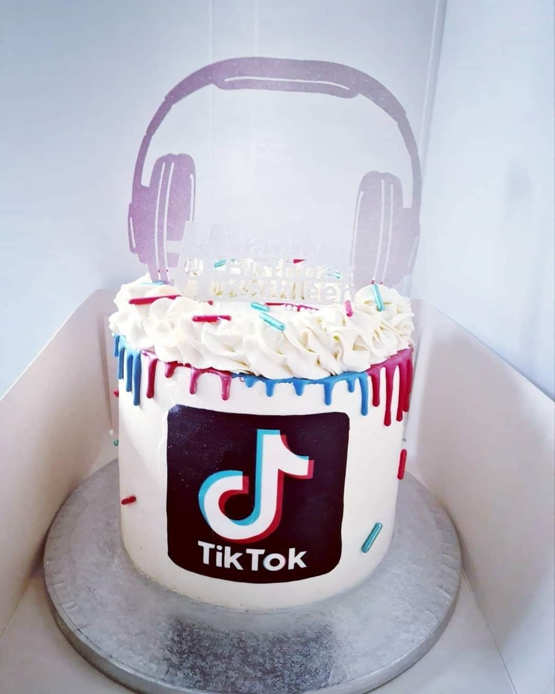 Tiktok Birthday Cake Beautiful Cake Designs Simple Birthday Cake Unique Birthday Cakes