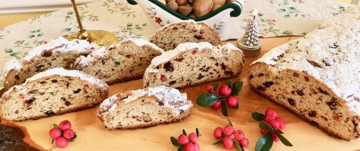 German Christmas Stollen Recipe German baking Pinterest German