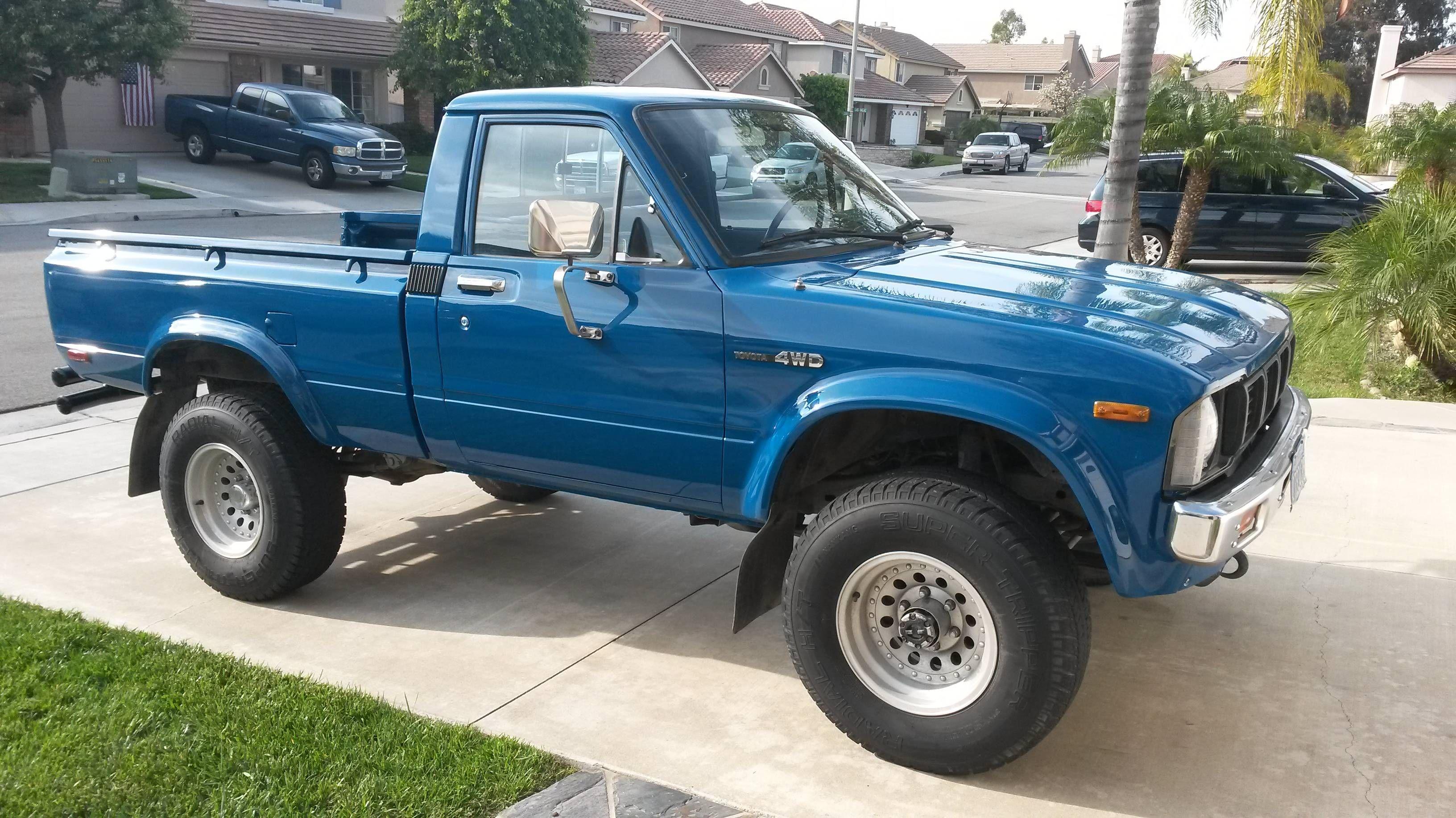 1980 Toyota Pickup 4WD Classic trucks, Antique trucks