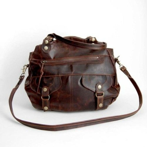 c1439731c1c yet another brown leather oversized bag Accessoires Divers, Mein Style,  Tote Backpack, Messenger