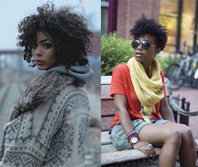 peinados pelo corto afro