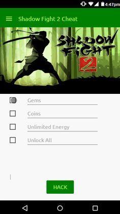 Shadow Fight 2 Hack Cheats Cheating Hacks Boss Hacks