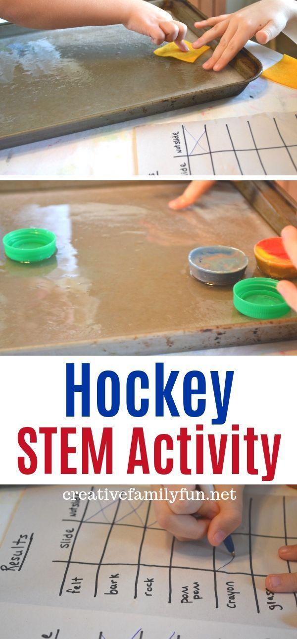 Hockey STEM Activity