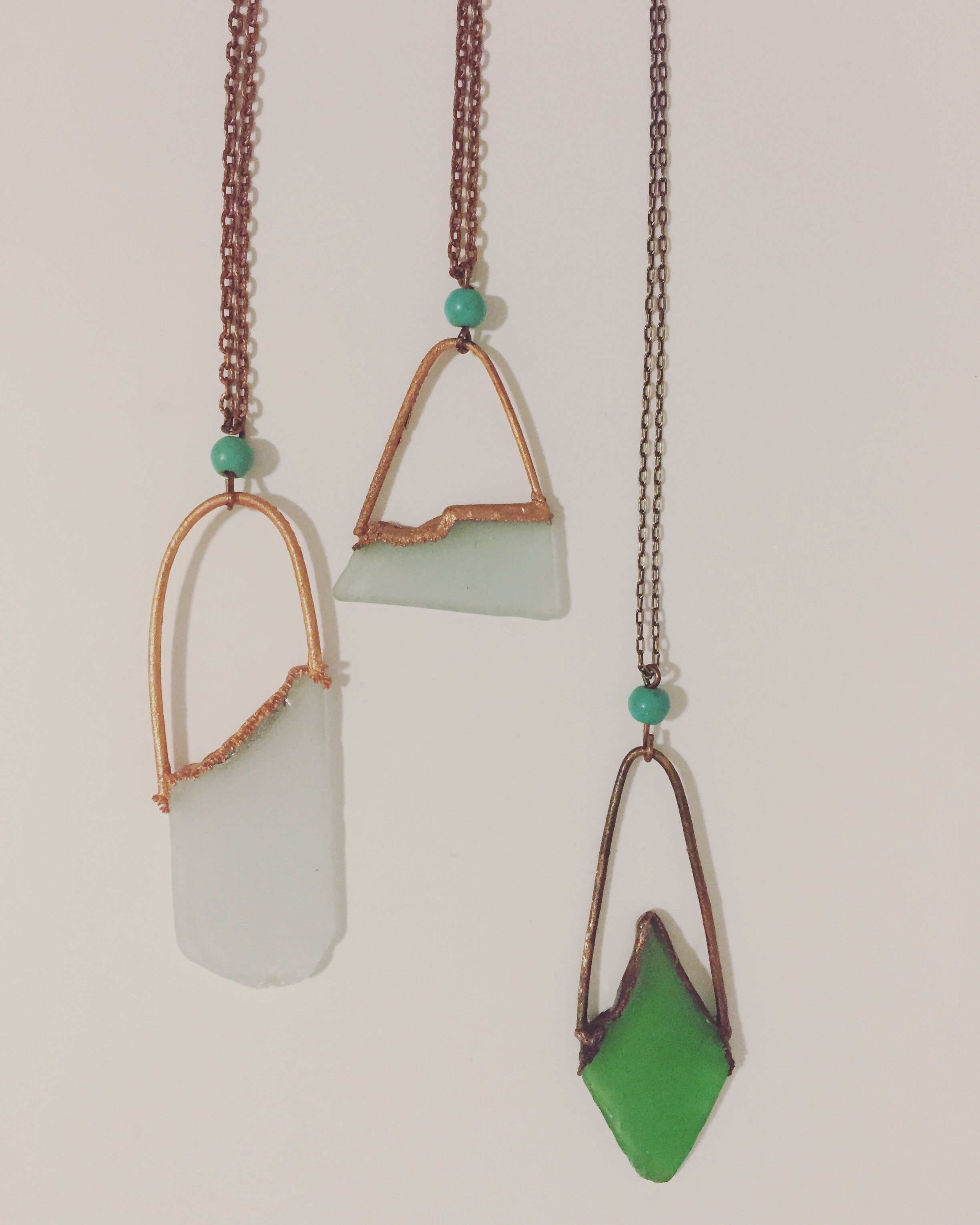 From the sea seaglass frame necklace copper electroformed beach from the sea seaglass frame necklace copper electroformed beach glass pendant seaglass aloadofball Images