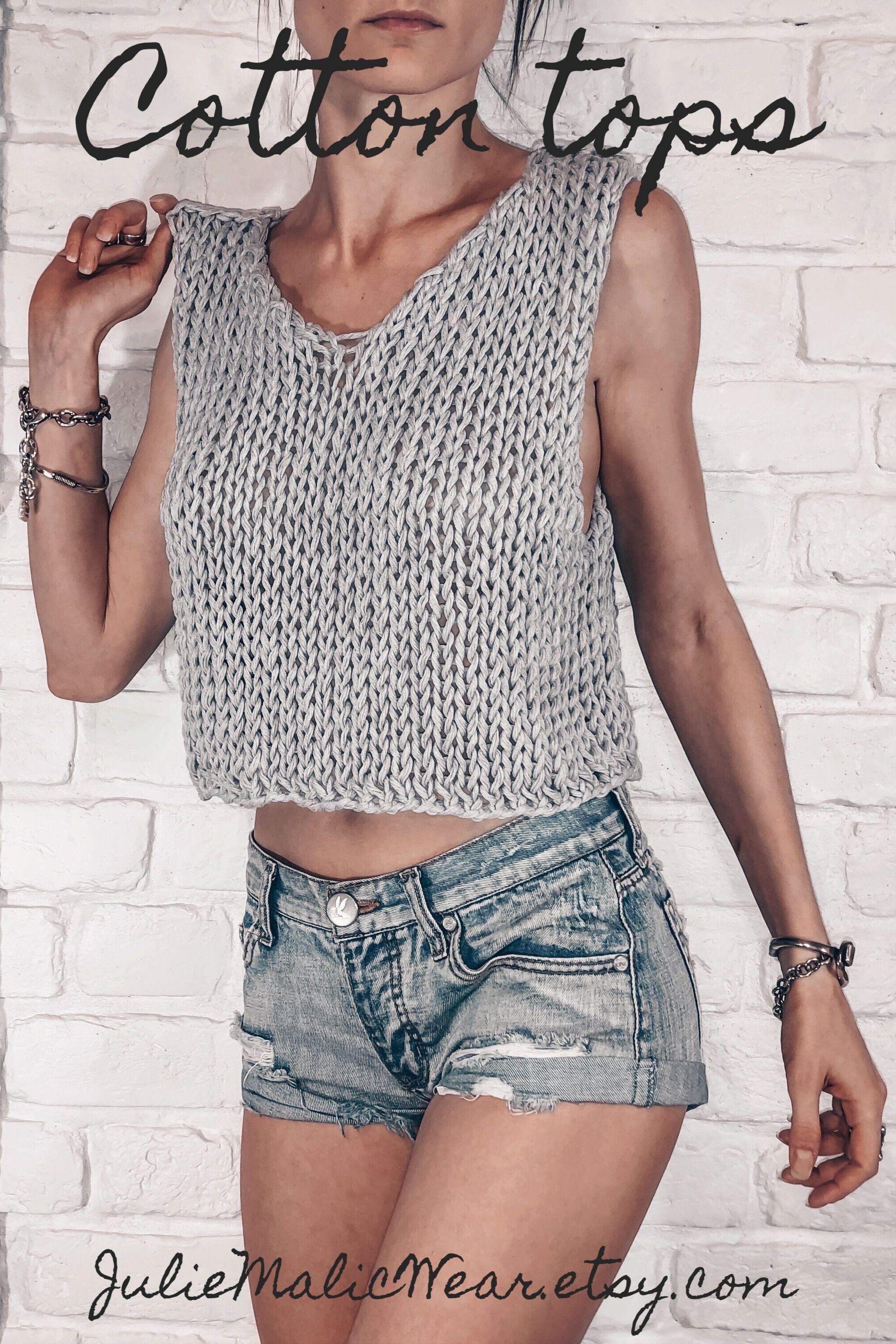 Boho clothing Minimalist fashion Crochet crop top Womens handmade crop top shirt Open back halter top style cropped bra top shirt