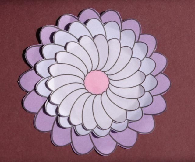 Liven Up Your Crafts with These Flower Project Ideas: Basic Flower Digital Stamp