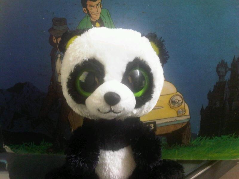 Puck, mascotte of Bamboo B