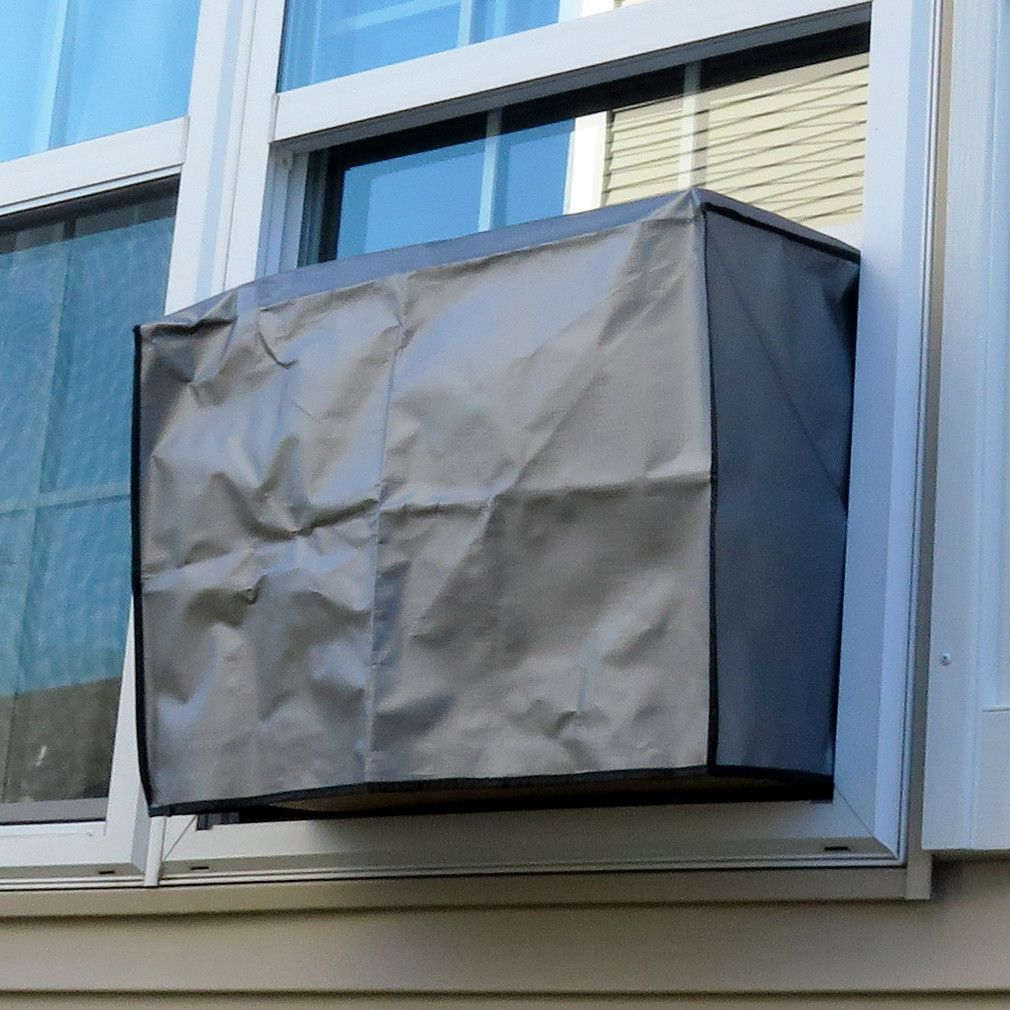 A/C Air Conditioner Outdoor Window CoverElastic Straps10