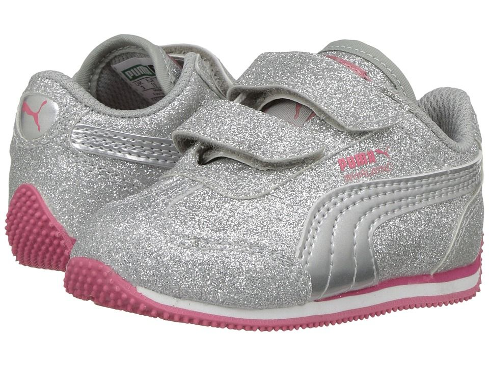 Puma Kids Whirlwind Glitz V (Toddler) Girls Shoes Puma