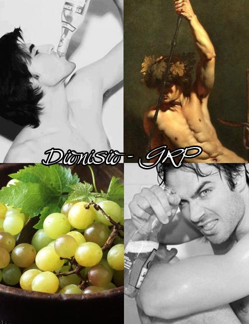 Dionisio, dios del vino y la vendimia.  https://www.facebook.com/GreekGodsRP