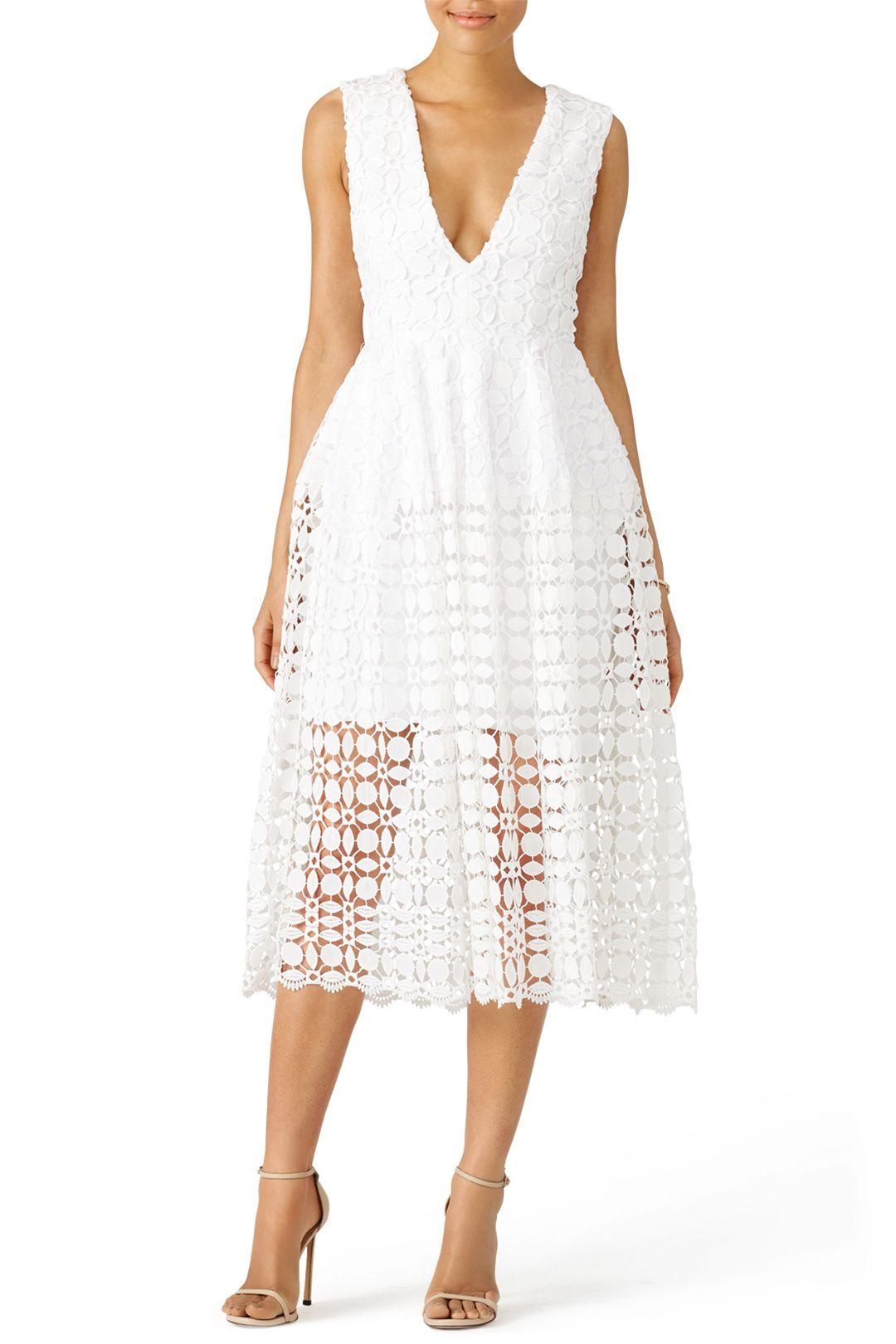 Nicholas Tiered Lace Dress Lace Dress Lace Dress Classy Lace White Dress
