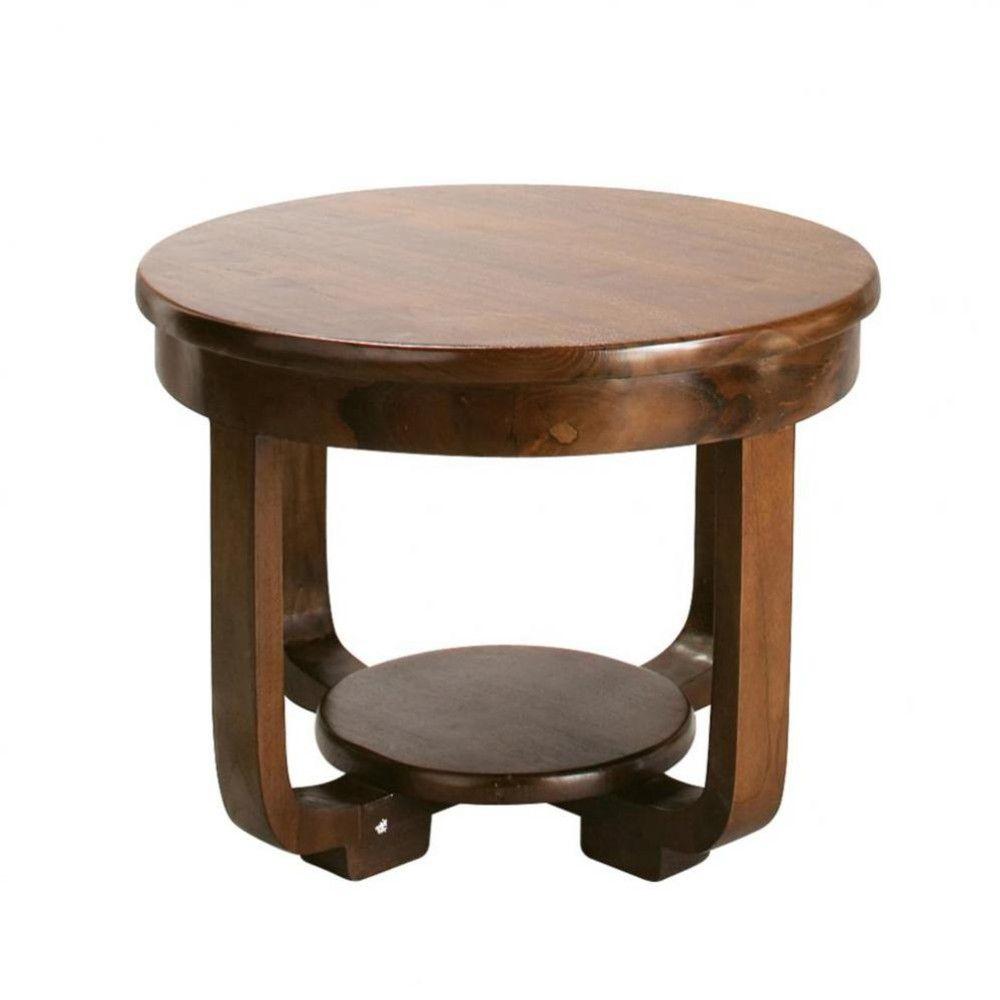Table Basse Ronde Art Deco tables et bureaux   round coffee table, table, teak