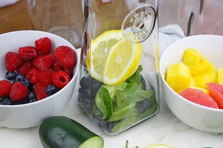 acqua detox per dimagrire