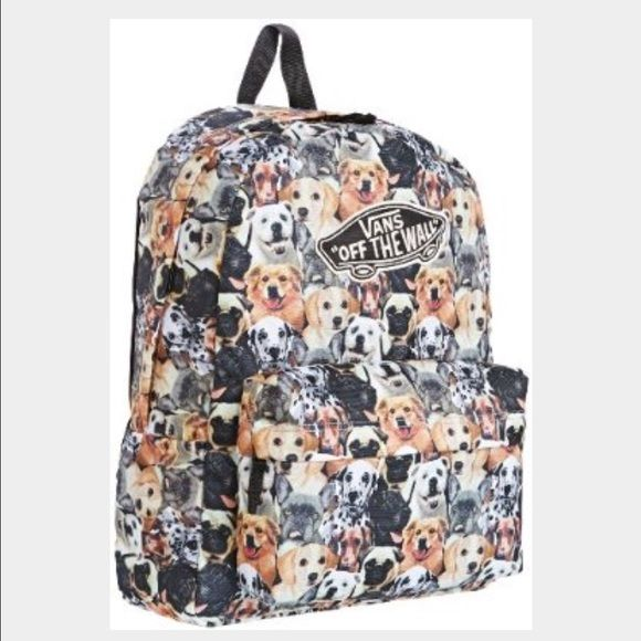 VANS Backpack for ASPCA VANS Backpack for ASPCA, in good preowned condition. I took off the VANS patch that was on front of backpack. Clean inside, No holes or tears. Limited Edition. NO TRADES NO PAYPAL Vans Bags Backpacks