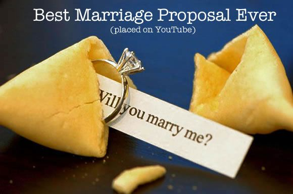 The Best Marriage Proposal Ever Placed On Youtube Marriage
