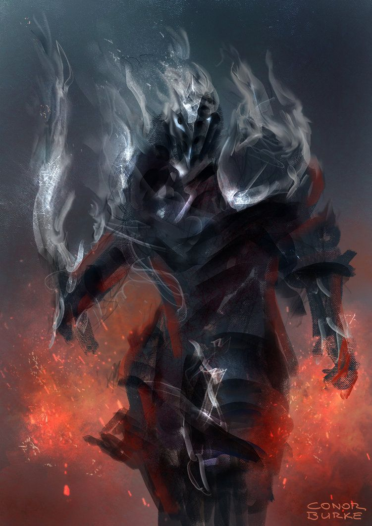 Smoke Knight by Mac-tire | Characters - Antipaladin/Evil ...