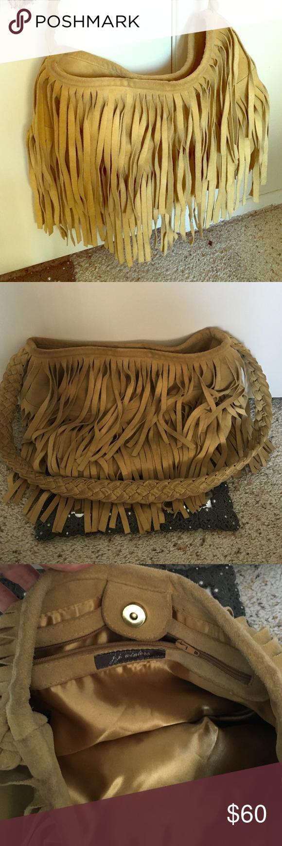 Amazing fringe bag by JJ winters Cross body fringe bag JJ winters Bags Crossbody Bags