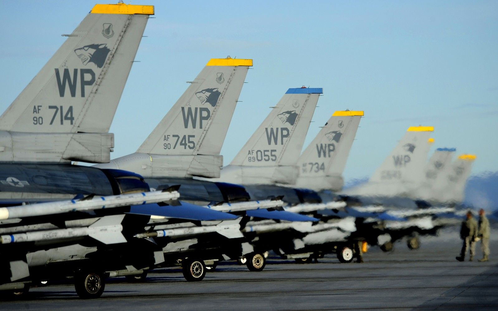 Crew Chiefs Assigned To The 8th Fighter Wing Kunsan Air Base