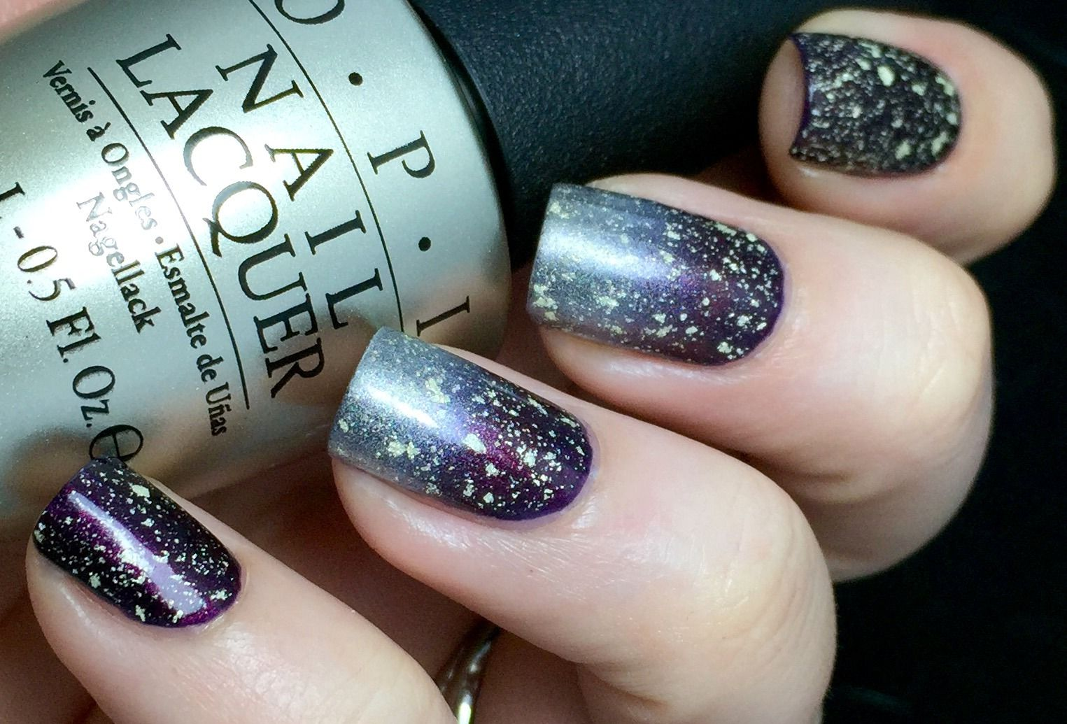 Nail Polish Wars, Cold Metal: two coats of OPI Every Month is ...