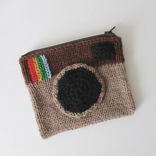 Ravelry: Camera Purse pattern by Amanda Berry #camerapurse