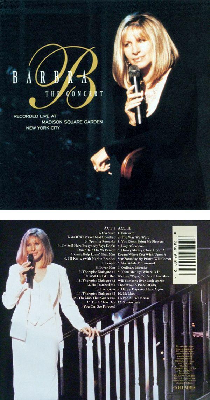 Barbra The Concert 1994 Barbra Streisand James Brolin Barbra