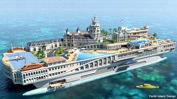 on track to become the world's most expensive yacht at $1.1 billion