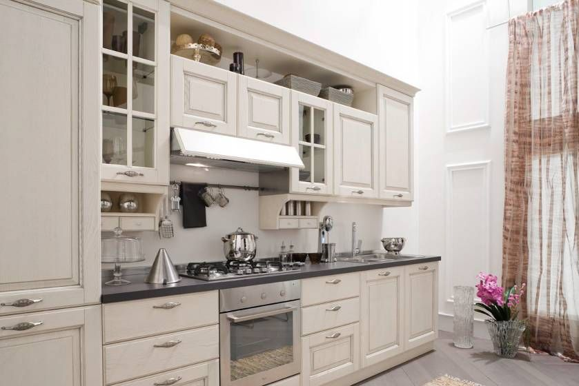 White rustic kitchen. Veneta Cucine - Memory | Kitchens to die for ...