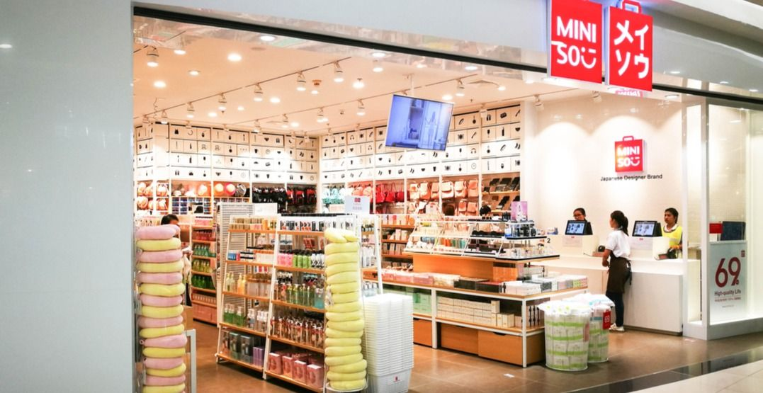 Popular Japanese Retail Giant Miniso Is Set To Open Its Second Canadian Location At Pickering Town Centre In Ontario This Weekend Investasi