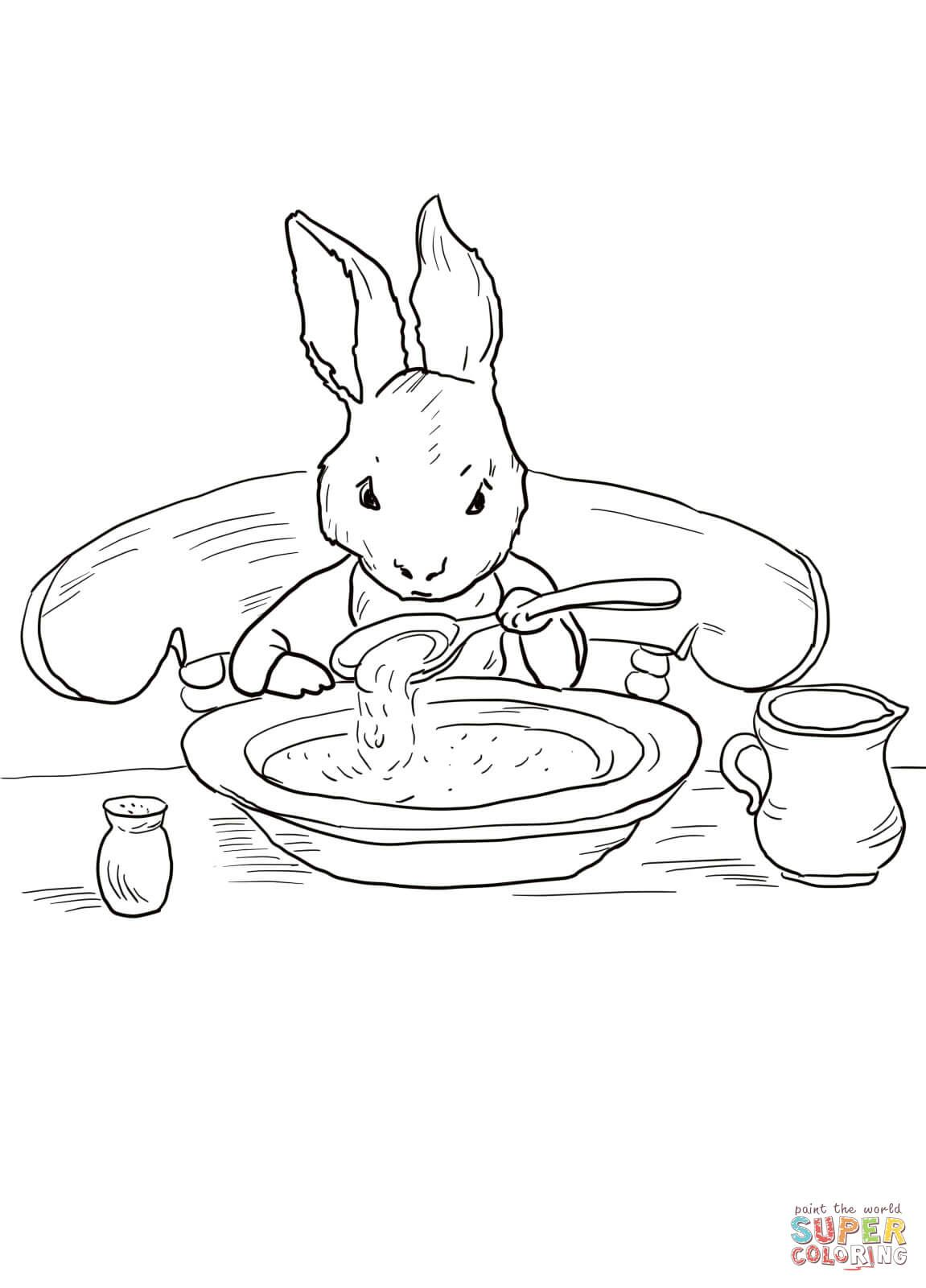 Peter Rabbit At Home