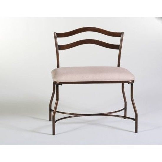 Super Details About Hillsdale Windsor 26 5 Vanity Stool Bench Gmtry Best Dining Table And Chair Ideas Images Gmtryco