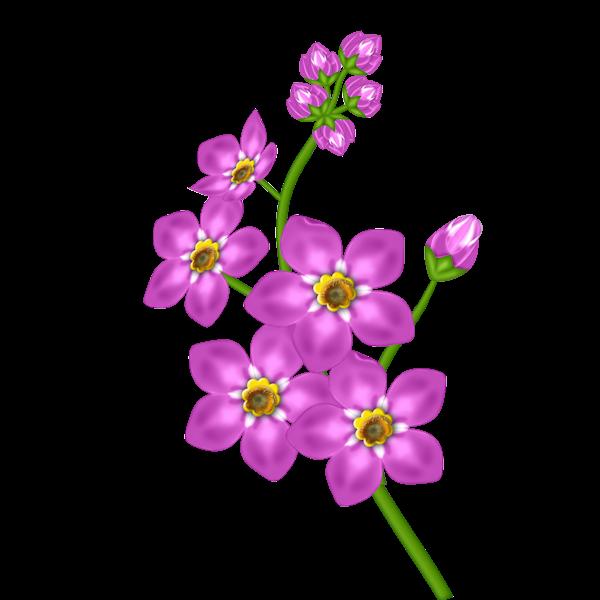 Pink Flower Transparent Clipart Flower Painting Clip Art Flower Art