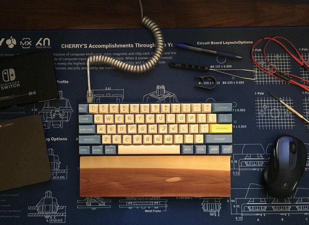 I Too Have Had A Successful Liftoff Mechanicalkeyboards Diy Mechanical Keyboard Gaming Computer Setup Pc Keyboard