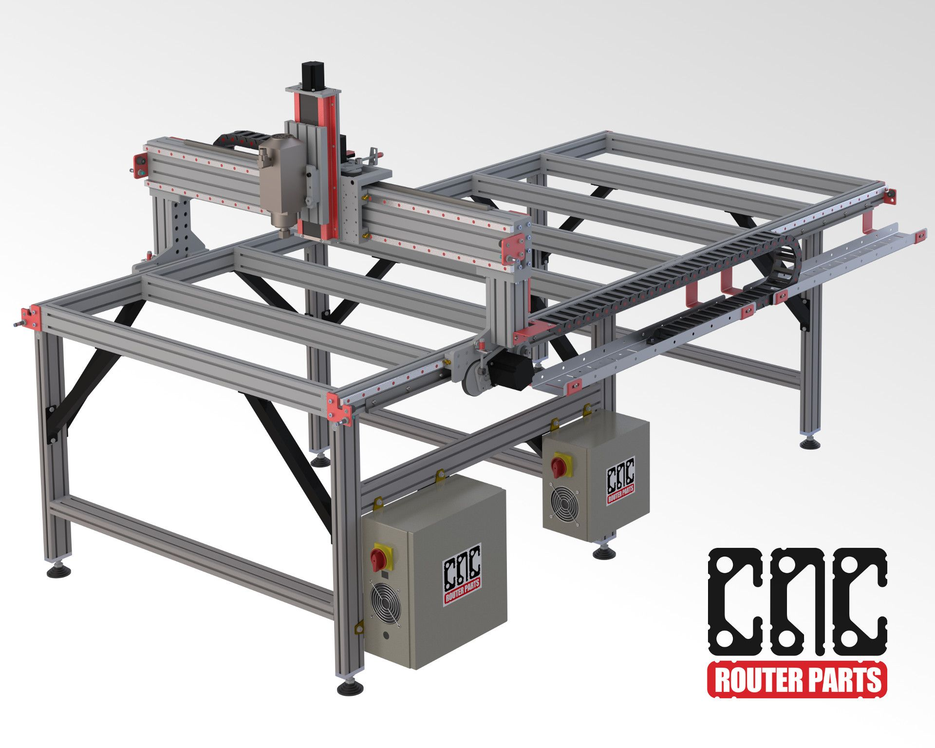 CNC Router Parts PRO4896 Cnc router, Diy cnc router, Cnc
