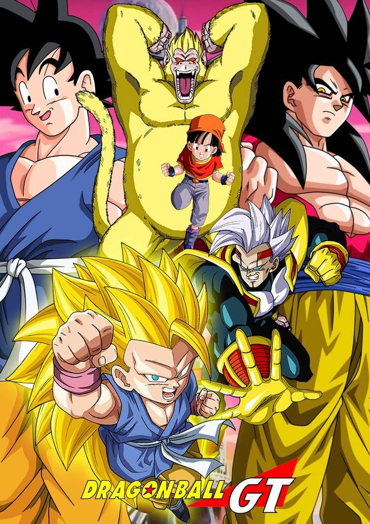Dragon Ball Gt Goku Vs Baby Final Battle : dragon, final, battle, AriezGao, DeviantArt, Anime, Dragon, Super,, Image,