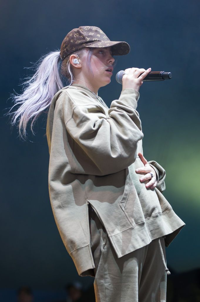 Billie Eilish performs at St Jerome's Laneway Festival on February…