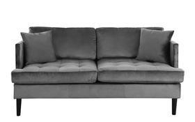 Wondrous Greta Old Hollywood Velvet Tufted Loveseat Interior Others Short Links Chair Design For Home Short Linksinfo