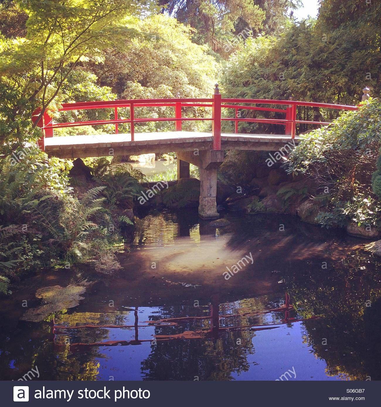 Download this stock image Traditional bridge,Japanese