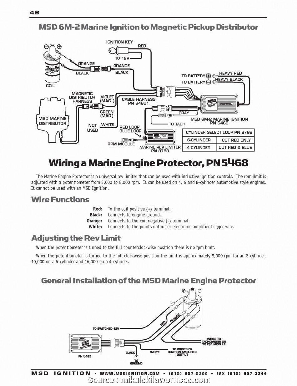 Msd 6425 Wiring Harness