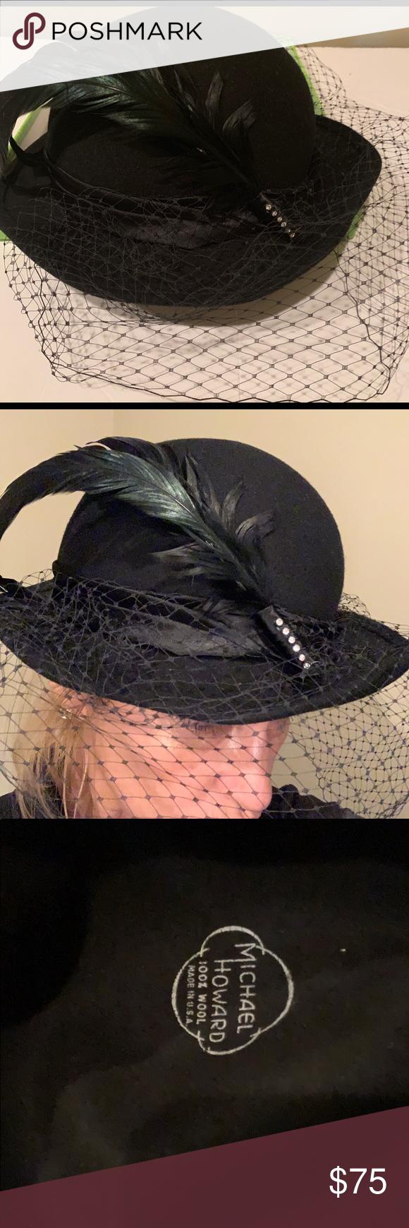 Vintage women s Michael Howard wool hat in 2019  b18a1af73ff