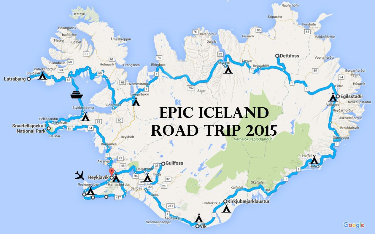 Epic Iceland Road Trip in a Camper Van: Two-Week Ring Road ... on iceland ring road length, iceland black population, golden circle reykjavik map, reykjavik tourist map, iceland points of interest maps, iceland ring road bridge, pacific coast highway 1 california map, iceland daylight chart, iceland tours, iceland itinerary, iceland road trip, iceland scenery, greenland road map, iceland stocks, west iceland road map, confederate states of america map, iceland scenic views, iceland f roads, iceland tourism, western canada map,