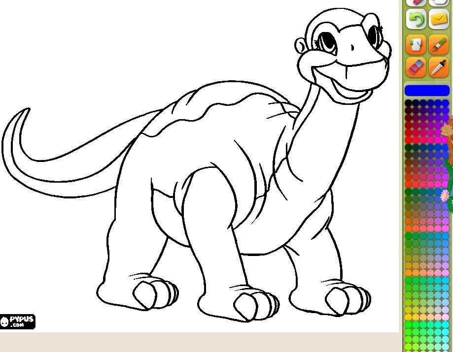 wwwlorearjunior dibujos-para-pintar-de-una-cria-de - copy animal dinosaurs coloring pages