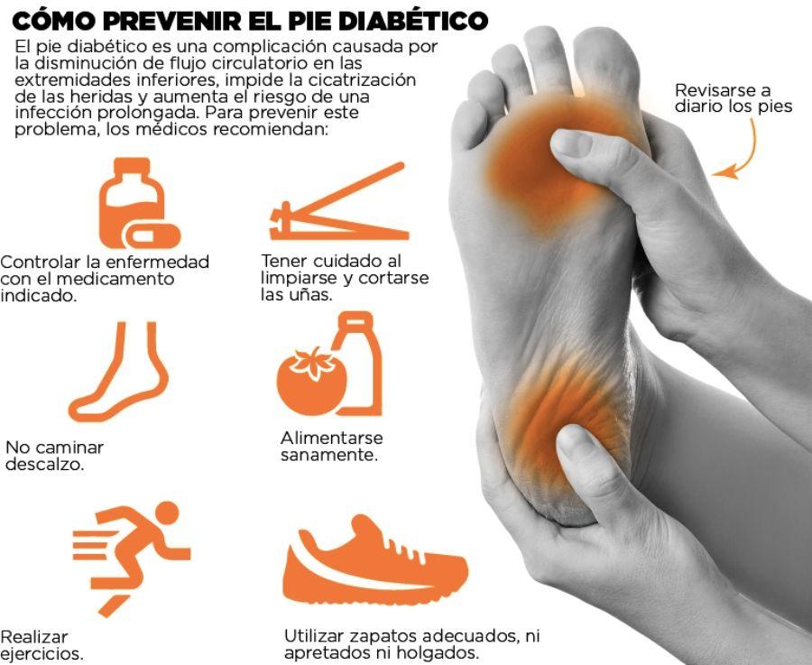 diabetes cuidado de pies masaje