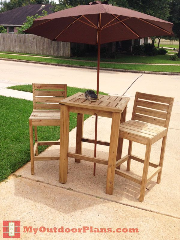 DIY Bar Stool Plans | Free Outdoor Plans   DIY Shed, Wooden Playhouse, Bbq