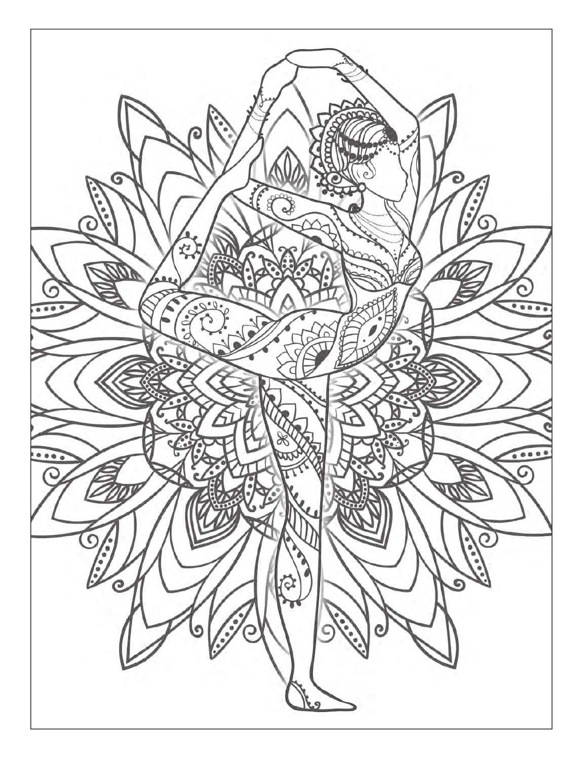 free meditation coloring pages - photo#47