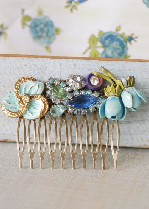 Cute idea for those old broken clip ons!