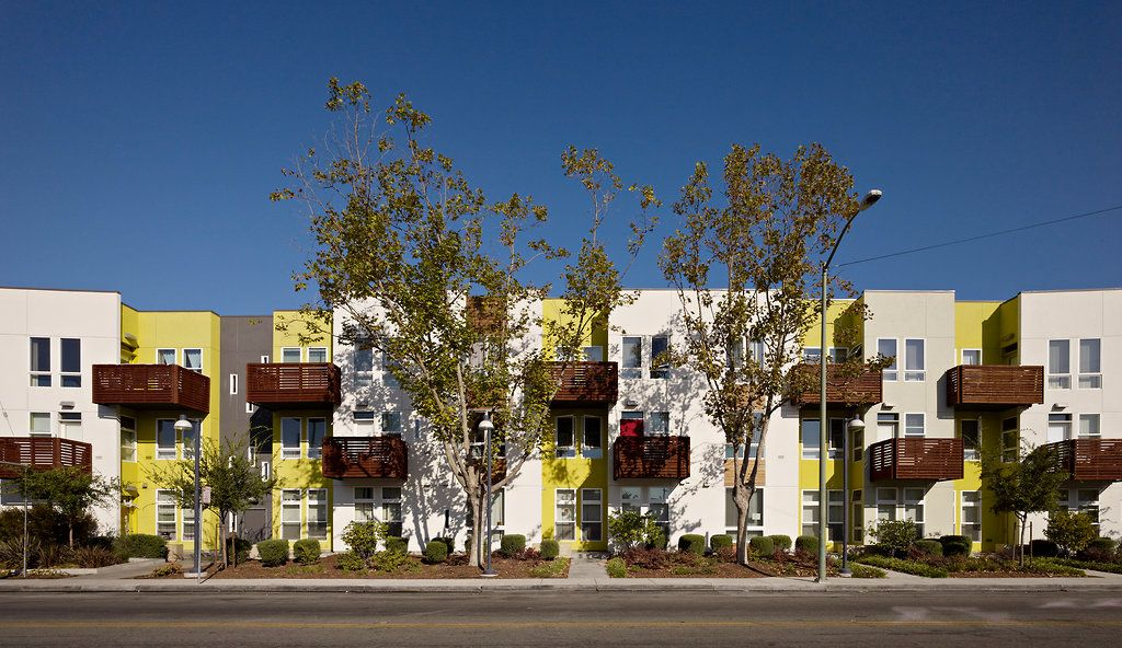 New Look For Public Housing In The Bay Area Published 2012 Affordable Housing Village Photo